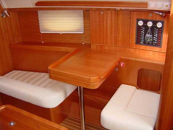 Navigacijski kotiček jadrnice Impression 344 by Elan